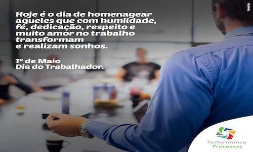 DIA DO TRABALHADOR - 01/05/2019